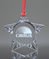 Picture of Crystal Star Ornament
