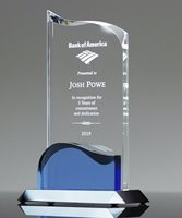Picture of Luminous Wave Crystal Award