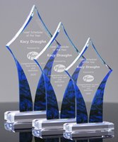 Picture of Sapphire Diamond Acrylic Awards