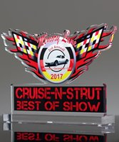 Picture of Custom Acrylic Car Show Award
