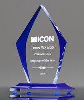 Picture of Indigo Ice Acrylic Award