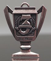 Picture of 3rd Place Trophy-Cup Medal