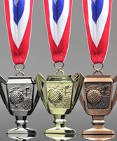 Picture of Golf Trophy Cup Medals