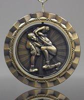 Picture of Wrestling Spinner Medal