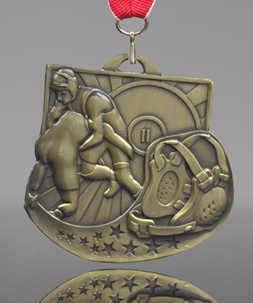 Picture of Wrestling Star Blast Medals