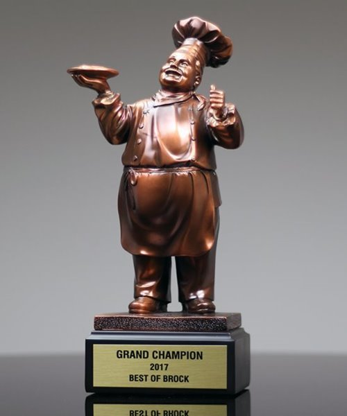 Picture of Chef Statue Trophy