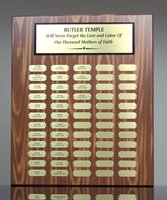 Picture of Monthly Recognition Awards Plaque