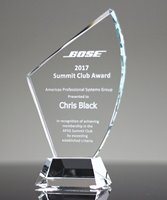 Picture of Avant Clear Crystal Award