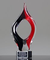 Picture of Success Art Glass Award