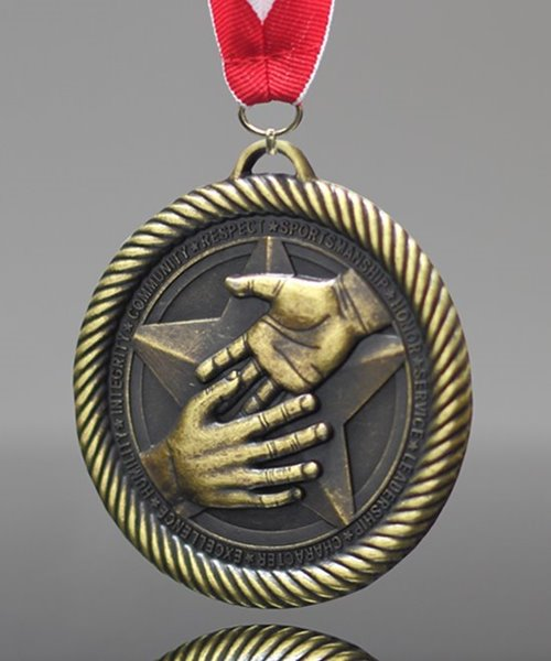 Picture of Hand Shake Medal