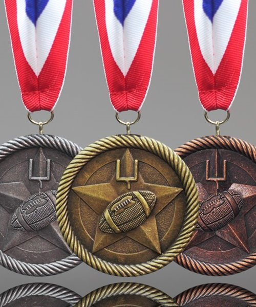 Picture of Football Value Medals
