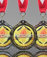 Picture of Epoxy Domed Participation Medal