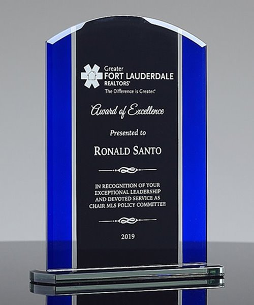 Picture of Appreciation Glass Award