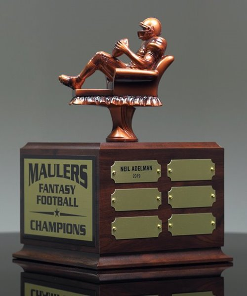Picture of Armchair Quarterback Fantasy Football Perpetual Trophy
