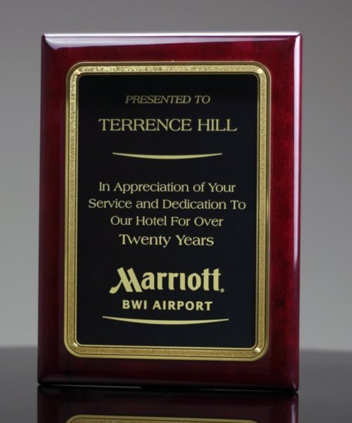 Picture of Employee Service Award Plaque