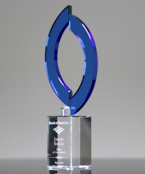 Picture of Sapphire Crystal Flame Award