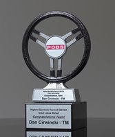 Picture of Steering Wheel Champion Trophy