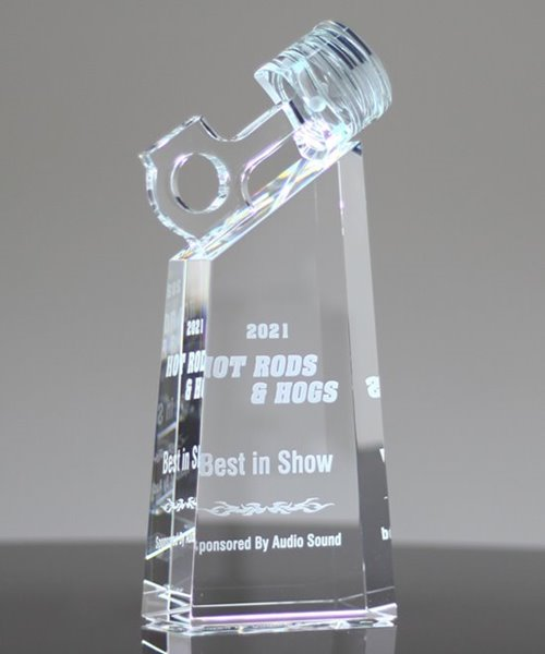 Picture of Crystal Piston Motor Sport Trophy