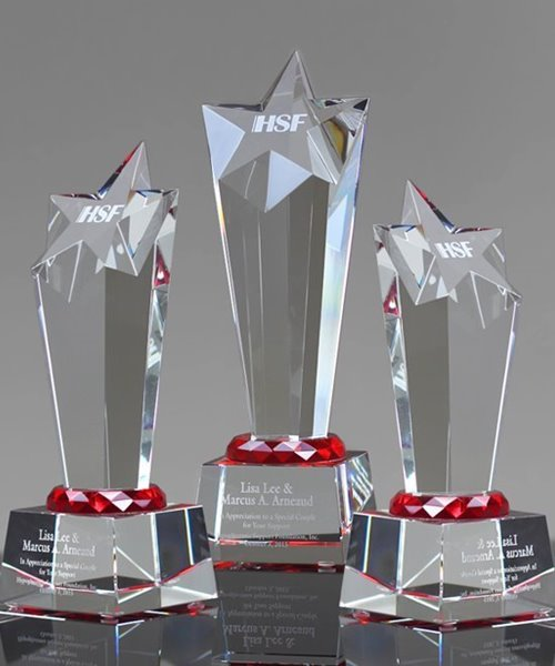 Picture of Optical Crystal Rising Star Award