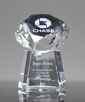 Picture of Clear Crystal Diamond Award