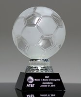 Picture of Crystal Soccer Ball Award