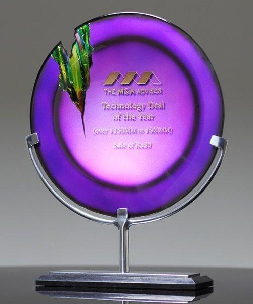 Picture of Venus Amethyst Art Glass