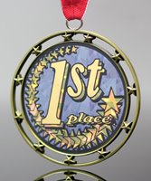 Picture of 1st Place Star Medal