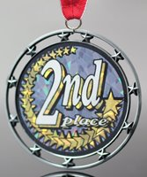 Picture of 2nd Place Star Medal