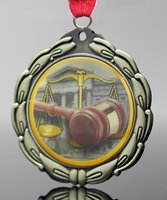 Picture of Epoxy Domed Justice Medals