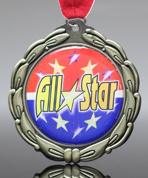 Picture of Epoxy Domed All-Star Medals
