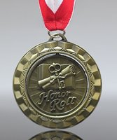 Picture of Honor Roll Spinner Medal