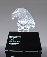 Picture of Crystal Eagle Bust Award