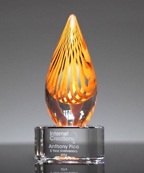 Picture of Aventura Citrus Art Crystal