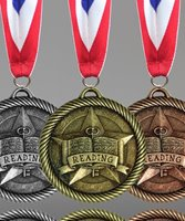 Picture of Reading Award Medals