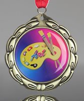 Picture of Epoxy Domed Art Medals
