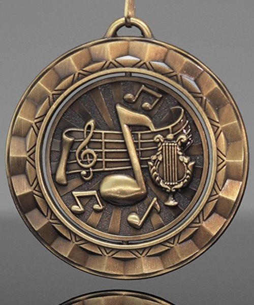 Picture of Music Spinner Medal