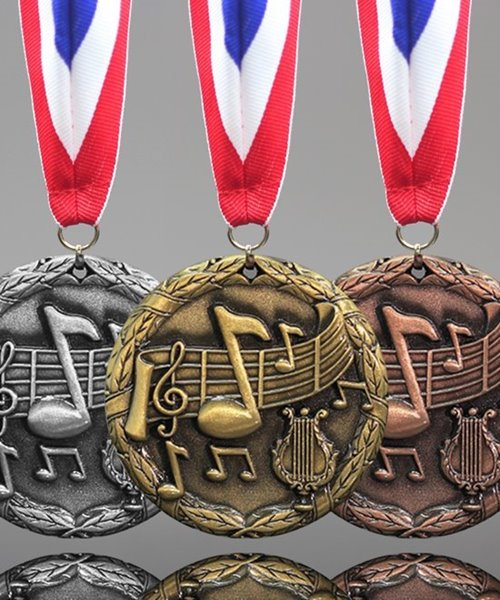 Picture of Music Note Medals