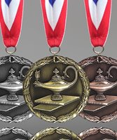 Picture of Lamp of Knowledge Medals