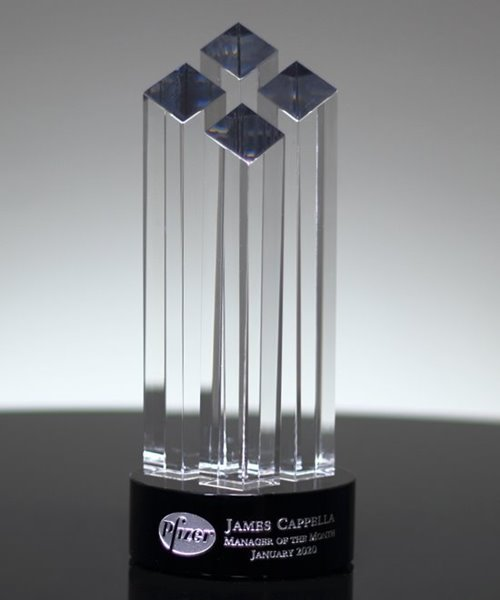 Picture of Diamond Towers Crystal Award