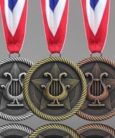 Picture of Music Lyre Award Medals