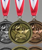 Picture of Lamp of Knowledge Value Medals