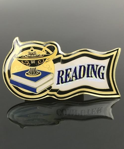 Picture of Reading Award Pin