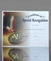 Picture of Photo-Image Certificate of Special Recognition