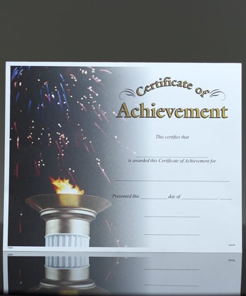 Picture of Photo-Image Certificate of Achievement