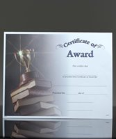 Picture of Photo-Image Certificate of Award