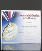 Picture of Photo-Image Certificate of Honorable Mention