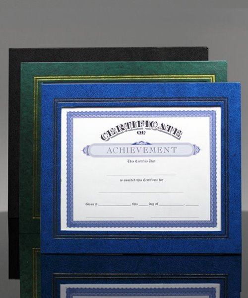 Picture of Leatherette Certificate Frame