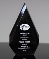 Picture of Black Acrylic Diamond Award