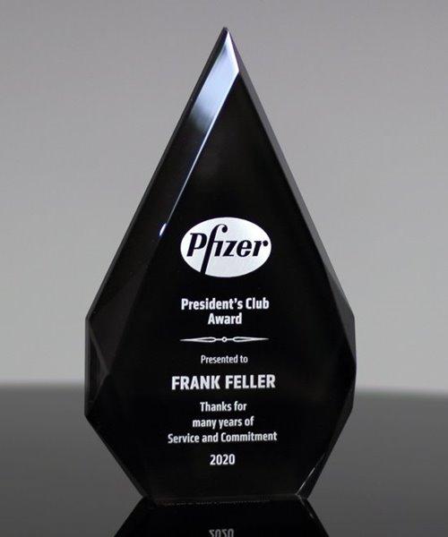Picture of Black Acrylic Diamond Award