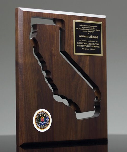 Picture of State of California Wall Plaque